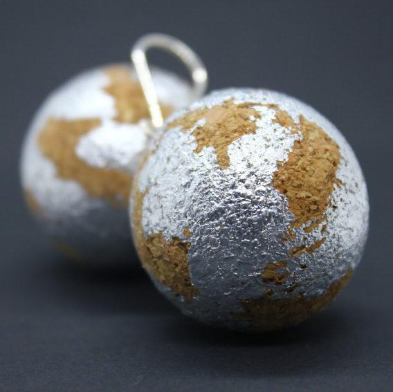Ohrhänger Silverballs